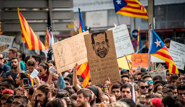 ONU: España debe respetar los derechos catalanes al referéndum