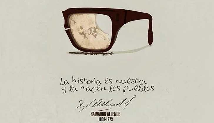 Se cumplen  44 años del golpe de Estado contra Salvador Allende