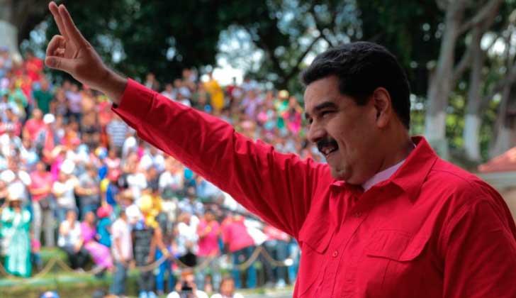 Maduro reitera denuncia sobre silencio mediático internacional a días de las elecciones regionales .