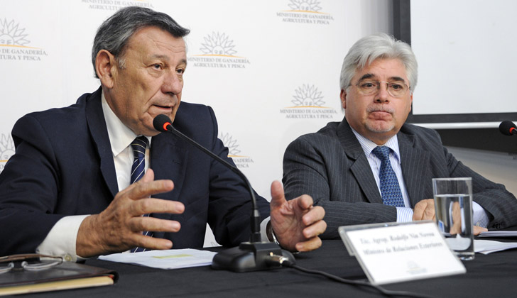 Canciller uruguayo califica de hostil política comercial de Brasil