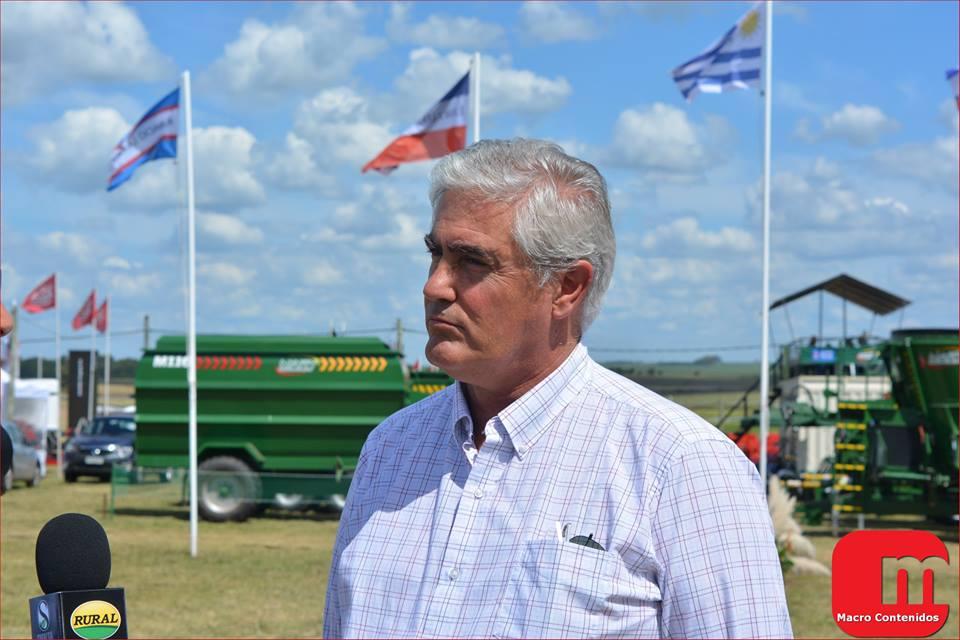 Agustín Bascou, intendente de Soriano. Foto: Facebook/intendentebascou