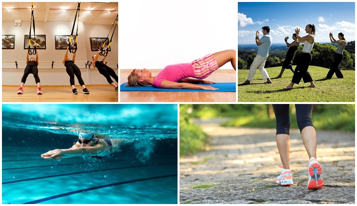 Los cinco mejores ejercicios para tu cuerpo, según Harvard.