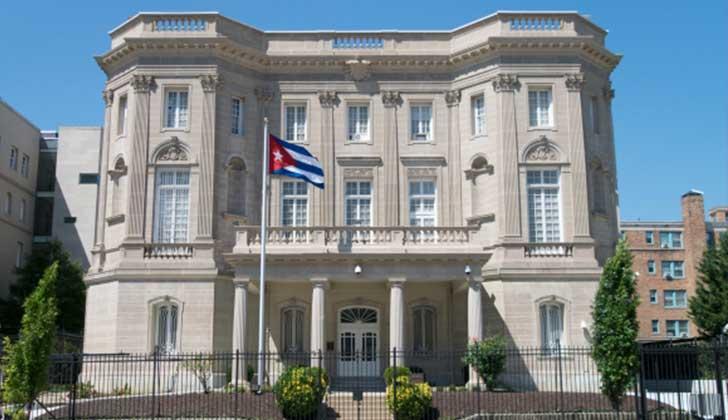 EE.UU. expulsa a 15 funcionarios de la Embajada cubana en Washington. Foto: Wikicommons