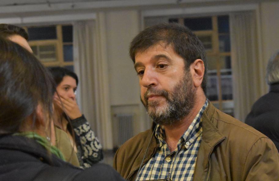 Fernando Pereira, presidente del PIT-CNT. Foto: Carlos Loría - LARED21