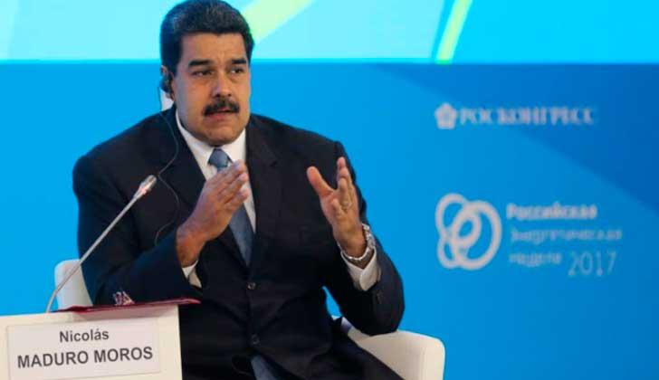 """Maduro: """"Trump repite lo que le ponen en el papel, no sabe dónde queda Venezuela"""". Foto: Presidencia Venezuela"""