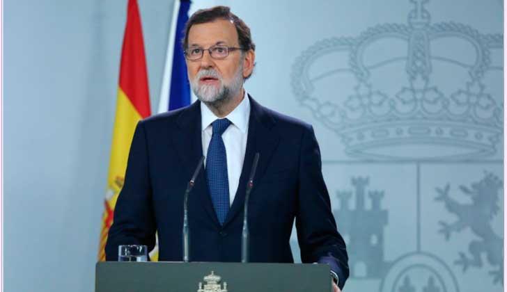 Rajoy pide a Puigdemont que aclare si declaró la independencia .