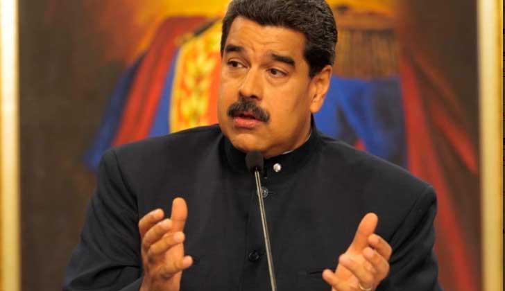 """Nicolás Maduro: """"Nuestro pueblo le ha dado un mensaje brutal al Gobierno imperialista de Donald Trump y sus aliados""""."""