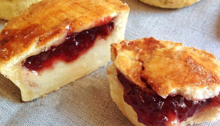 El pastel vasco es un postre originario del país vasco francés.