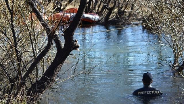 Buzos en el Río Chubut