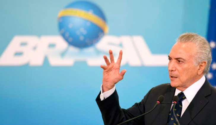 Michael Temer recula y revisa reforma laboral tras críticas de OIT