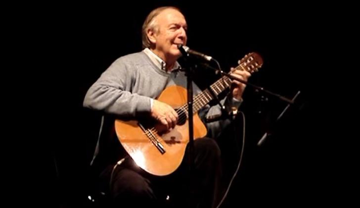 Murió Daniel Viglietti, una de las voces más reconocidas de Uruguay