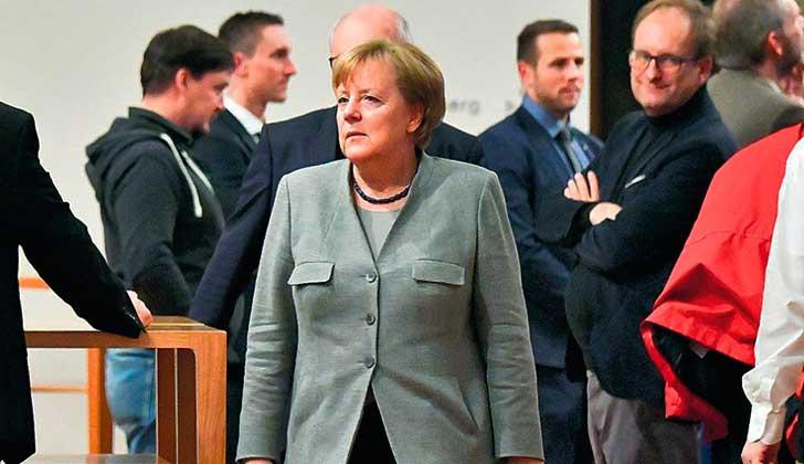 Merkel no logró formar Gobierno; los liberales se bajaron de la negociación .