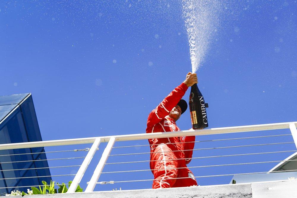 "Vettel gana el Gran Premio de Brazil"""