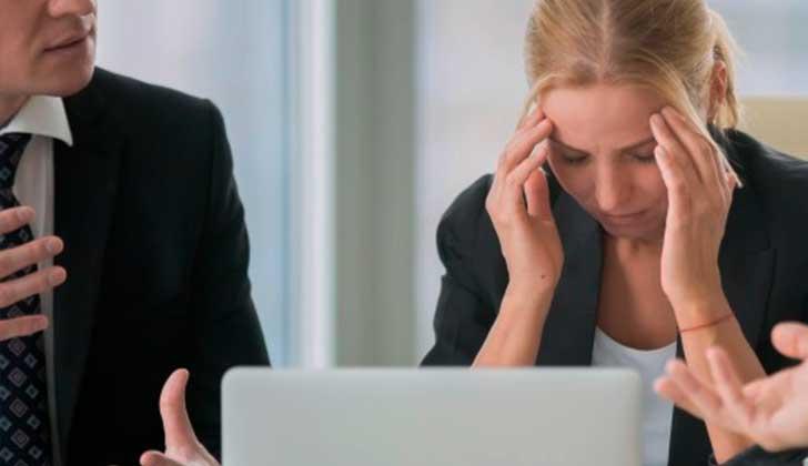 El hostigamiento y el estrés en el trabajo puede aumentar el riesgo de diabetes tipo 2.