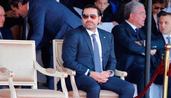 Arriba a Egipto exprimer ministro de Libano