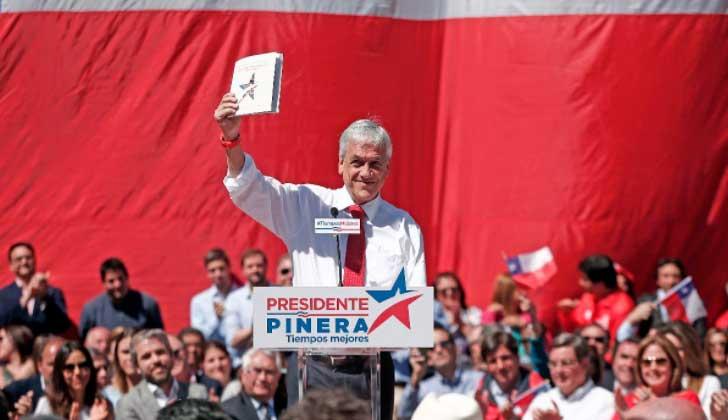 A una semana de las elecciones Piñera se mantiene como favorito.