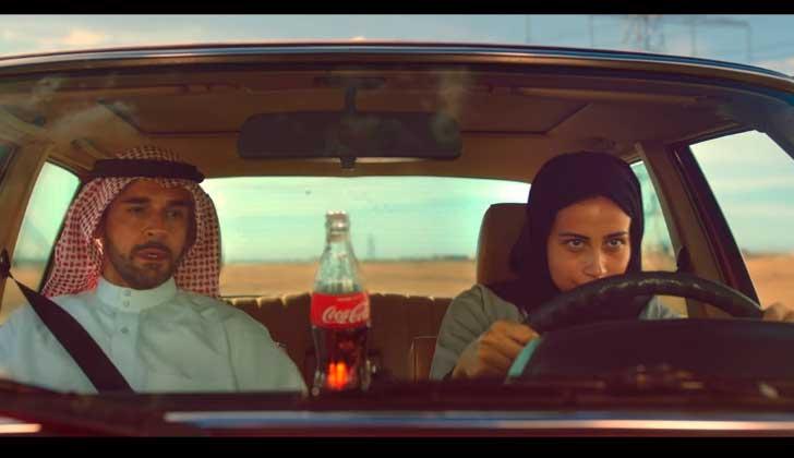 El nuevo anuncio Coca-Cola en Arabia Saudita divide opiniones .