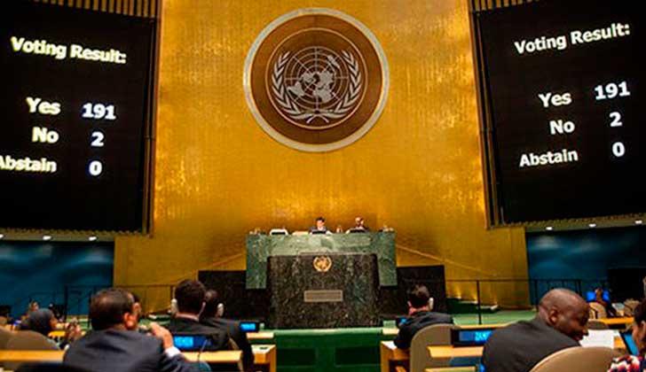 Vuelve EU a votar contra el levantamiento de su embargo a Cuba