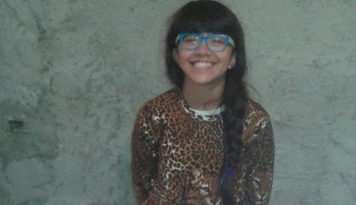 La niña Brisa González recientemente desaparecida.