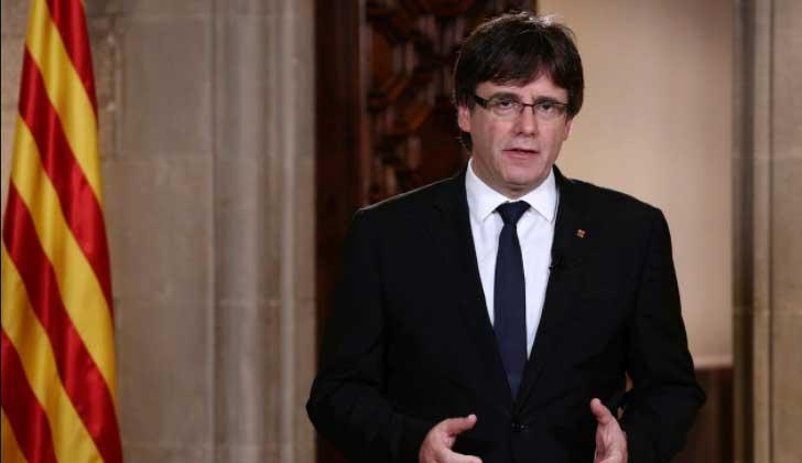 Carles Puigdemont. Foto de archivo