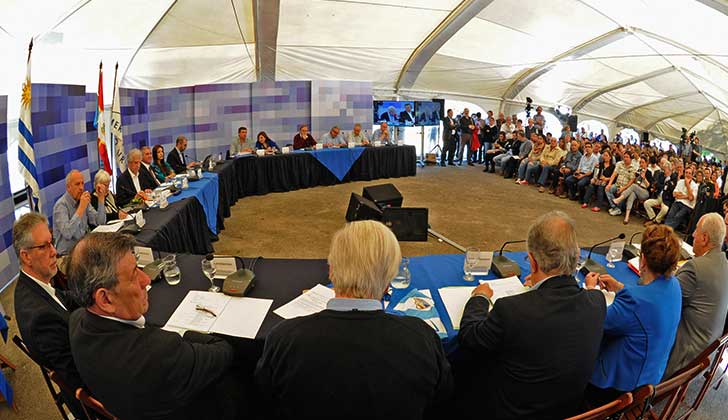 Consejo de Ministros será en Pirarajá, Lavalleja este lunes. Foto: Presidencia