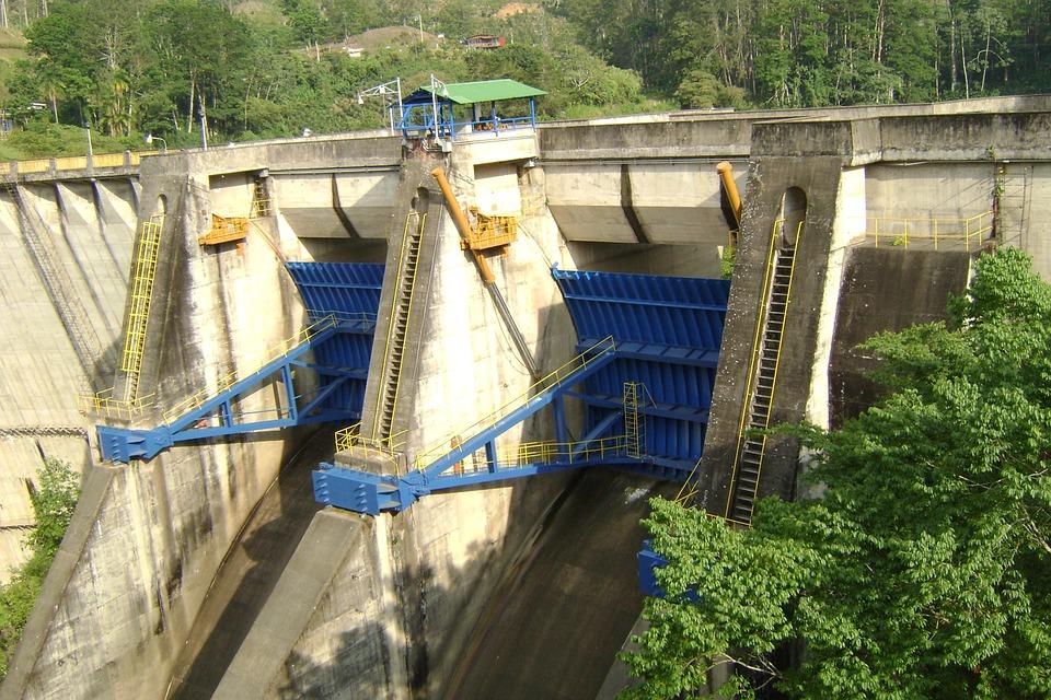 Planta hidroeléctrica de Cachi, en la provincia de Cartago, Costa Rica. Foto: Pixabay