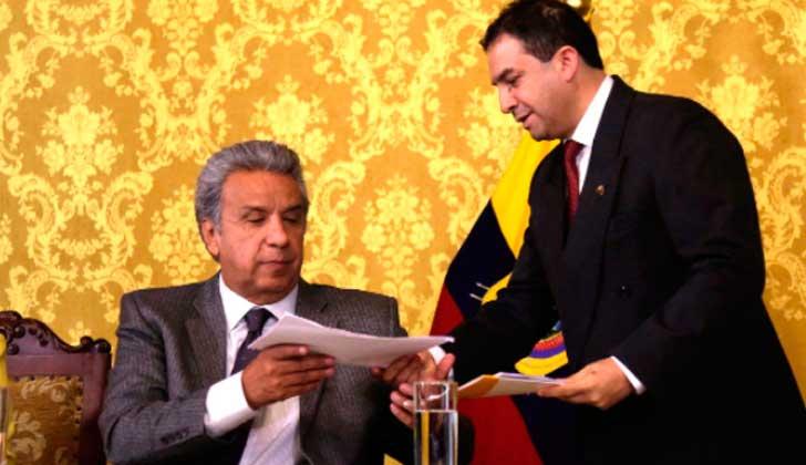 CNE de Ecuador ratifica a Lenin Moreno como líder de Alianza País. Foto: archivo @Lenin
