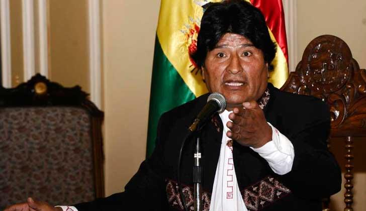 Presidente Morales: Almagro debe ir a juicio ante la CPI
