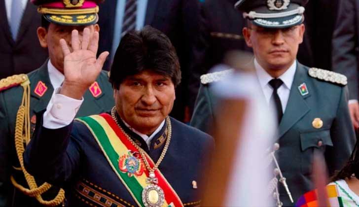 EE.UU. insta a Evo Morales a abandonar la idea de repostularse .