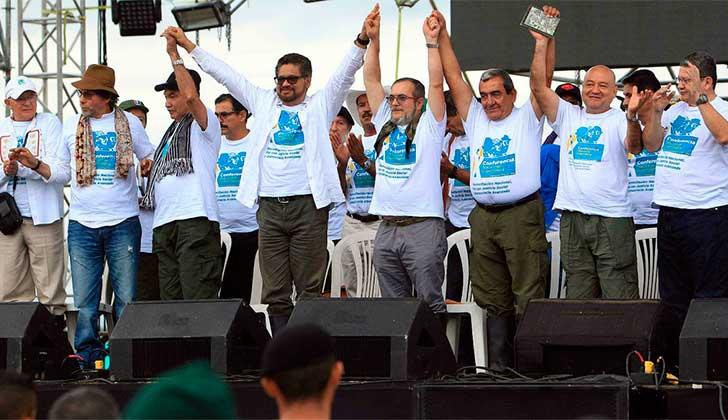 Las FARC salen definitivamente de lista de terrorista de la UE. Foto archivo 2016.