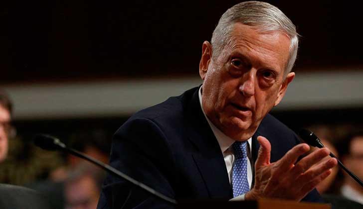 Secretario de Defensa de EE.UU. afirma que la ONU permitió la intervención de EE.UU. en Siria.