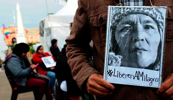 La Corte Interamericana de Derechos Humanos dictó una medida provisional a favor de Milagro Sala.