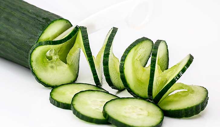 Los beneficios del pepino, la hortaliza del verano. Foto: Pixabay