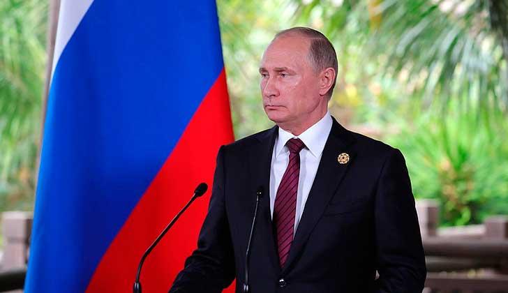 Vladimir Putin, presidente de Rusia. Foto: Kremlin