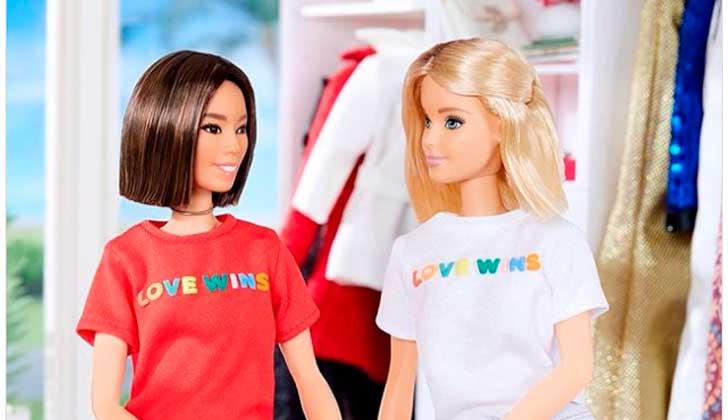 La nueva Barbie que apoya a la comunidad LGBT.