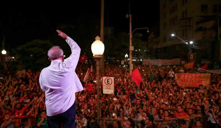 Lula inició su tercera gira del año de cara a las elecciones de 2018.