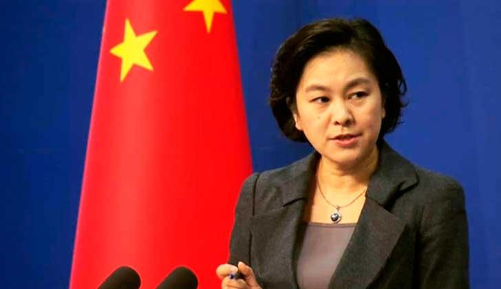 """Cancillería china: """"Defendemos una solución con dos Estados"""" para el conflicto palestino-israelí."""