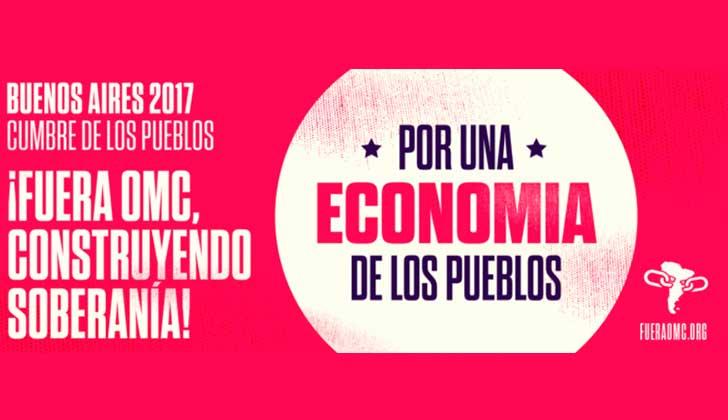 Cumbre de los pueblos y semana de acción global contra la OMC en Argentina.