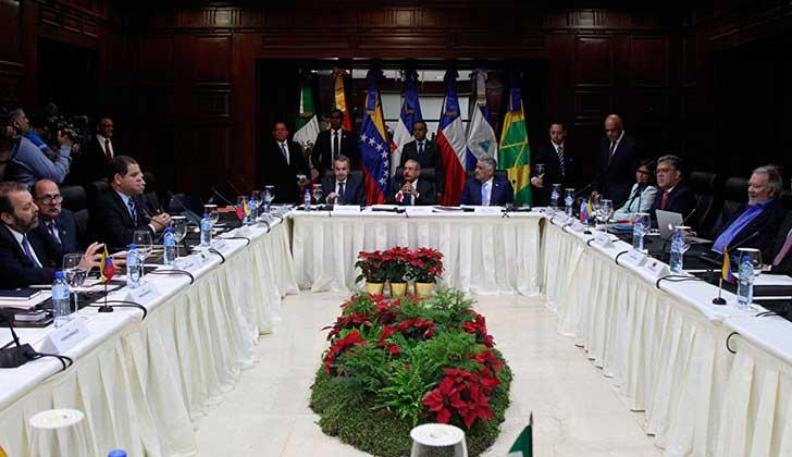 Presidente Medina y oficialismo venezolano confiados en diálogo por Venezuela