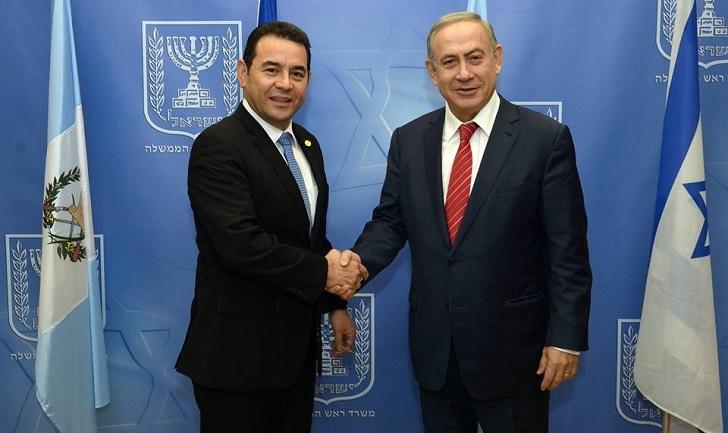 Trasladan embajada en Israel a Jerusalén
