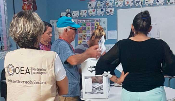 OEA propone un nuevo llamado a elecciones generales para solucionar la crisis en Honduras.