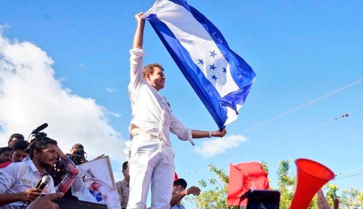 """Salvador Nasralla: """"Estoy totalmente seguro de que gané las elecciones""""."""