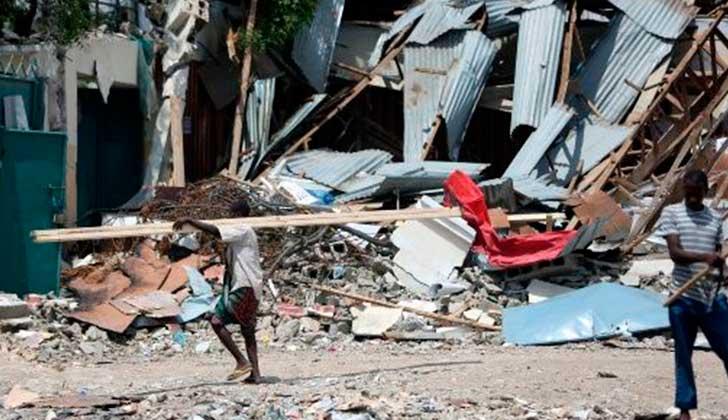 Somalia aumenta hasta 512 el número de víctimas del peor atentado de su historia.