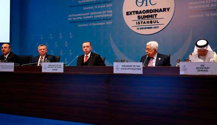 Líderes musulmanes piden que se reconozca Jerusalén Este como capital de Palestina