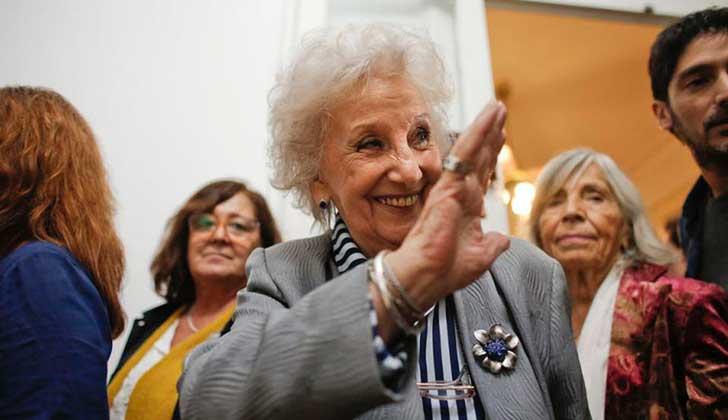 """Abuelas de Plaza de Mayo anunciaron el hallazgo de la nieta 126: """"se encuentra feliz de saber la verdad""""."""