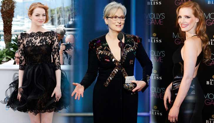 Las actrices de Hollywood vestirán de negro en los Globos de Oro como protesta contra el abuso sexual.