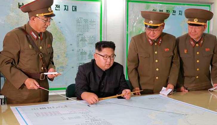 """Pyongyang promete que aumentará """"la capacidad de defensa"""" mientras persista la amenaza y el chantaje de EE.UU.."""