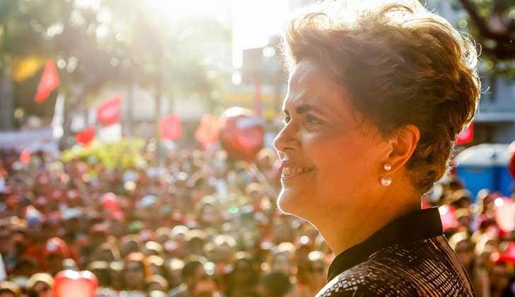 """Dilma Rousseff: """"Que 2018 sea el año de la reconquista de la democracia"""". Foto: Facebook Dilma Rousseff"""