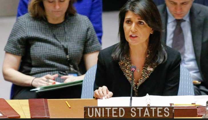 EE.UU. vetó resolución del Consejo de Seguridad de la ONU sobre Jerusalén.
