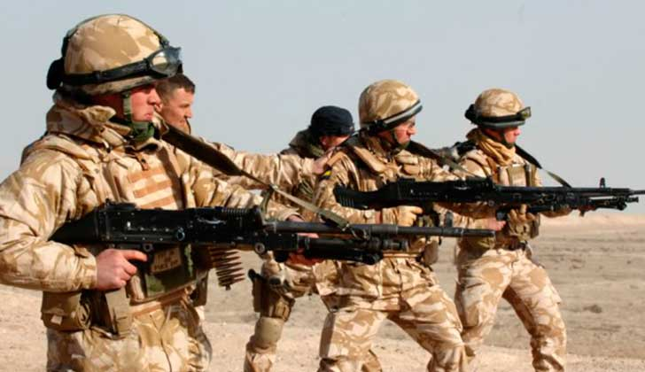 CPI cree que el Ejército británico cometió crímenes de guerra en Irak.